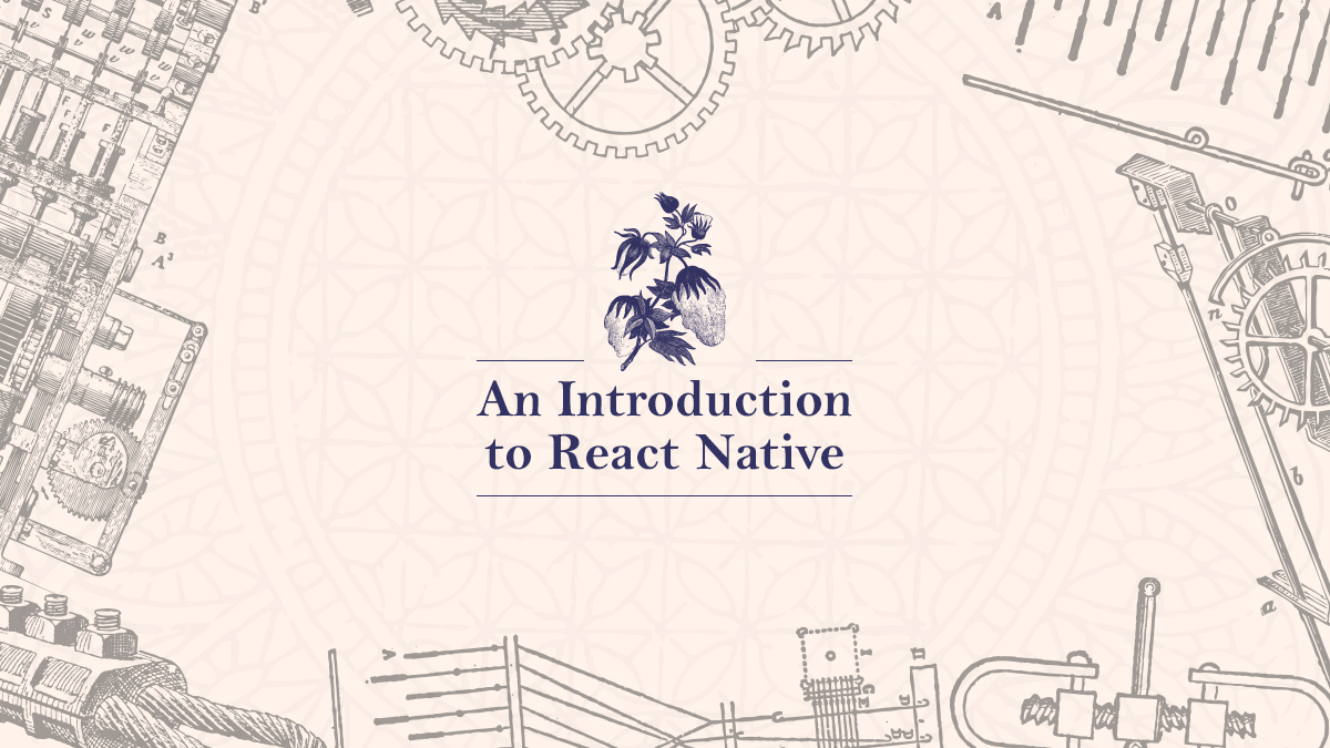 March 14th Lunch: Introduction To React Native