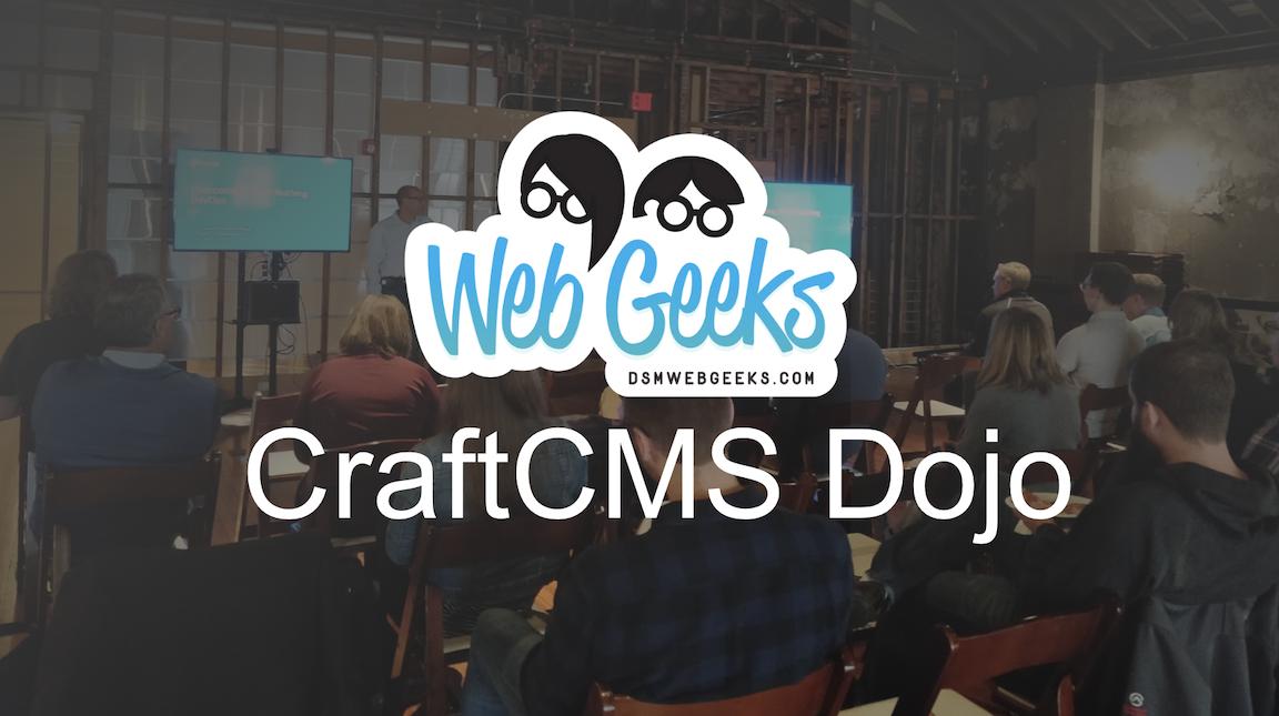 Craft CMS Dojo