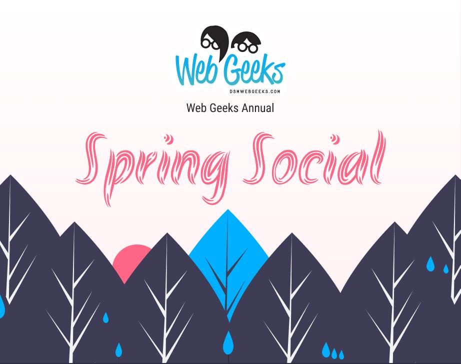 Web Geeks/dsmJS 2021 Spring Social