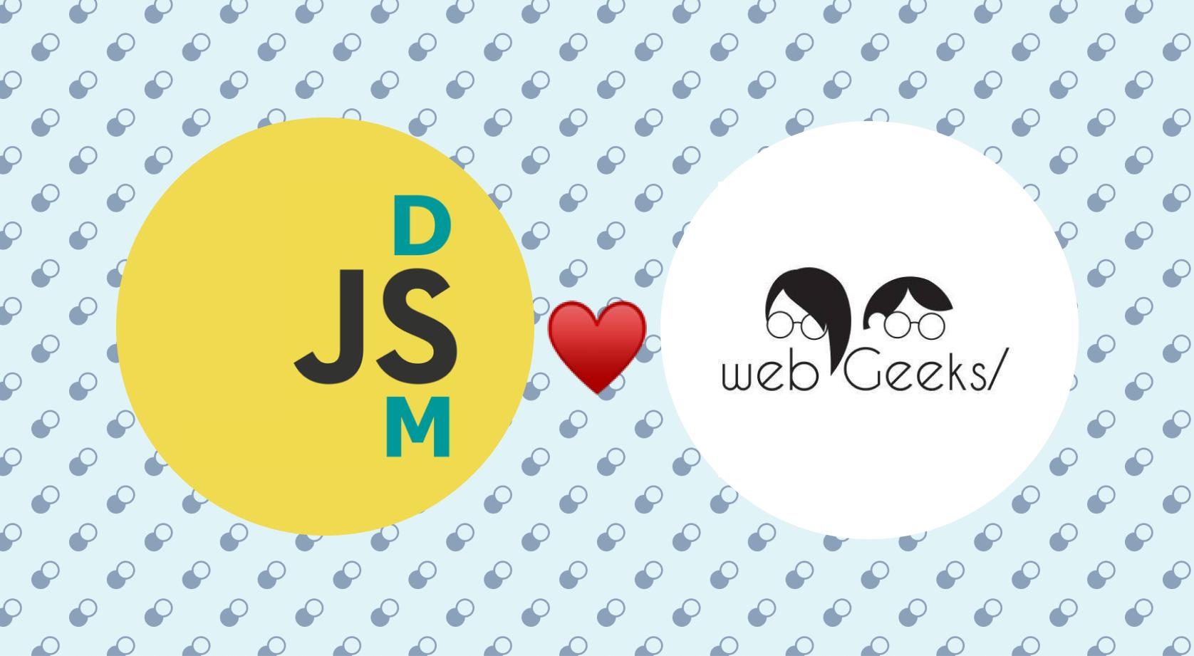 Web Geeks/dsmJS Spring (Virtual) Gathering